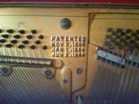 i have a late 1880's marcellus piano.person with the