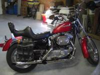 Rare Late 1984 Harley Sportster. Excellant to very good