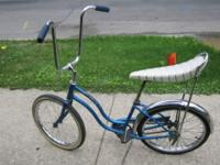 You are viewing a late 60's early 70's girl's Schwinn