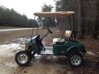 I have an Ez-go lifted golf cart with new batteries,
