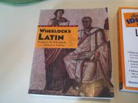 Selling these Latin books for $3.00 each.  Your choice.