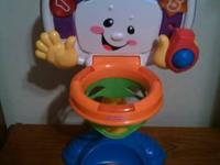 Fisher Price Laugh and Learn   Adjustable Basketball