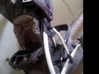 USED LAURA ASCHLEY STROLLER, GOOD CONDITIONS $50 DLLS.