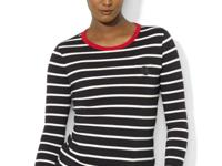 Lauren Ralph Lauren's classic cotton crewneck features