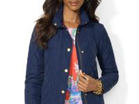 Lauren Ralph Lauren's polished jacket features a