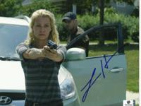 Laurie Holden (Andrea) Signed (GA) Authenticated 8X10