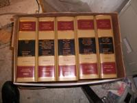 2001 Law Books - Martindale - Hubble Law Books -