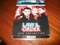 Law and Order Season 2 excellent shape. CALL  Location:
