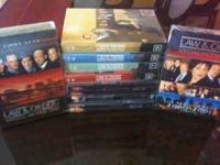 Brand New in cases Law & Order SUV DVD's, series 1-9