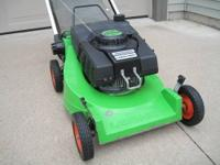 Very rare Lawnboy C21ZPRB push lawnmower. This machine