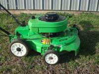 Lawnboy Gold Series 2 cycle 5hp self prepelled mulching