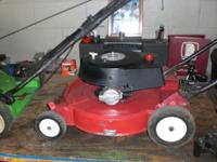 I have two Lawn Boy mowers for sale. Both are 2 Cycle