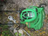 This is a good used Lawn-Boy mower. Has a 6.5 hp Silver