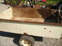 For Sale: Lawn Cart for sale, 17 cubic feet. $50.00.