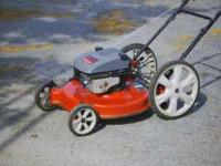 "Nice older model hand mower......22"" cut....5hp B &"