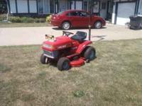 LAWN CHIEF RIDING MOWER- 12 HP BRIGGS ENGINE WITH A 39""
