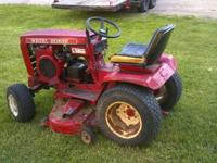 Husqvarna GT2254 lawn and garden tractor. Purchased in