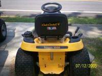 2001 series 1000 cub cadet 42 in, cut,runs good call