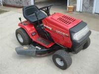 YARD MACHINE--14.5HP 42''CUT Seven speed shift on the