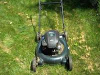 I have a lawn mower that run good cuts good great deal