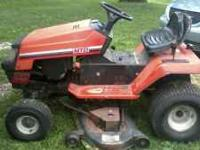 Riding mower runs but has some sort of electrical
