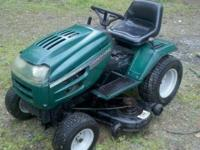 this is a ready to mow 20 hp 46inch cut ranch king