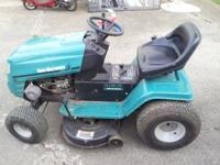 I have a mid 90's (1996?) Yard Machine by MTD riding