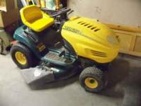 Yard Man lawn mower. Runs great. Needs new belt to run
