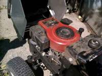 Up for sale 1 Craftsman lt 4000 Lawn Tractor. It has a