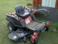 Troy Built Mustang zero turn 50 inch cut 25hp 2500.00