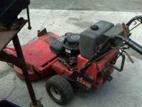 14 Horsepower Gravely. 36 inch cut. $500 firm. Please
