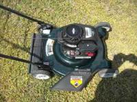 i have a Bolens lawn mower for sale, im asking $110 obo