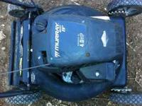 I have a lawn mower in great working condition! it is