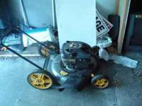 Nice lawn mower for sale. Located in Swanton. Call or