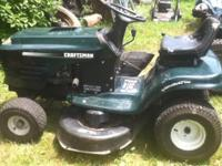 FOR SALE IS A CUB CADET MOWER, MACHINE IS IN OK RUNNING