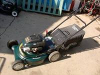 lawn mower craftsman 6.5 hp rear wheel drive with drive