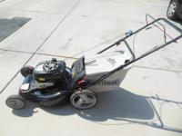 Craftsman Platinum Series 190ccBriggs & Stratton