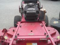 Lawn Mower Exmark 48? top quality ZERO TURN ? CUTS