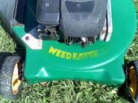i have a lawn mower for sale weate eater 20''runs