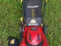 20 inch Homelite walk behind LAWN MOWER