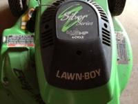Lawn Boy 4.5 hp. side discharge. Sold as is. $45.00