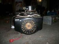 20hp Kholer twin cylender Motor came off of a