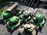 Complete lawn mower repair shop including: 3 lawn