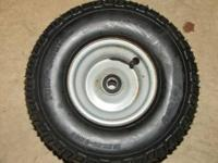 I HAVE 3 TIRES FOR SALE WITH RIMS ( SINGLE HOLE IN