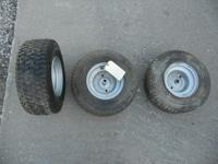 I have 3 tire/rim sets for sale $30 each. These are