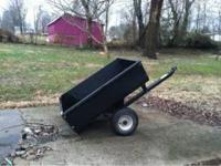 Lawn mower trailer It's in good shape! $65 OBO CASH