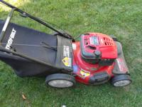 Troy-Bilt Model 12AV566N711. Practically New!!! Runs