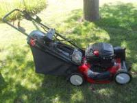"Murray 20"" cut, self propelled. call.. Location: Camp"