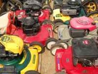 Rebuilt Lawn Mowers- Toro, Craftsman, Honda, Yardman,