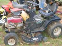 4 riding lawn mowers (not running) snapper, poulan, 2